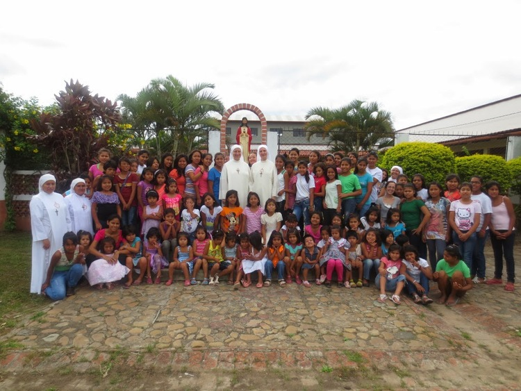 The orphanage, Hogar Sagrado Corazón, is a home for approximately 112 girls, ages infant to eighteen.