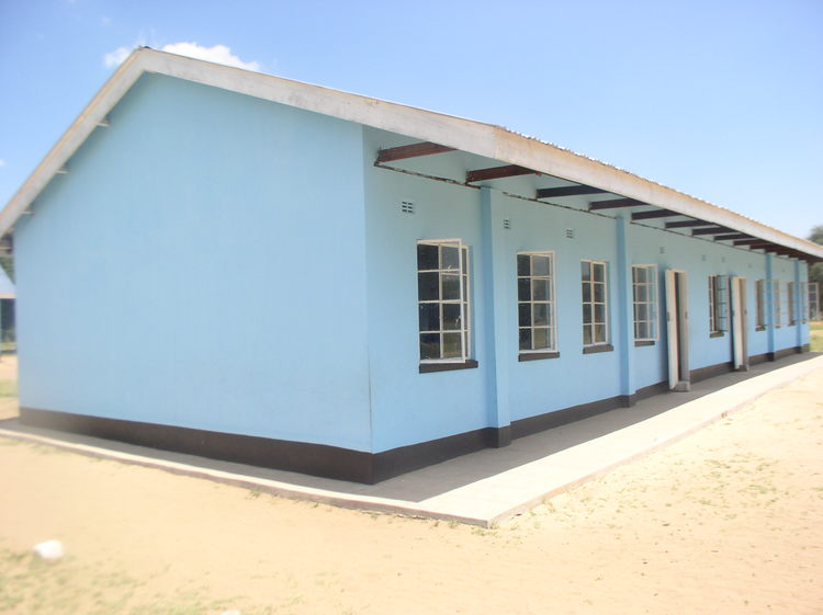Our new classroom block that was completed in 2013 for the Ziga Junior School.