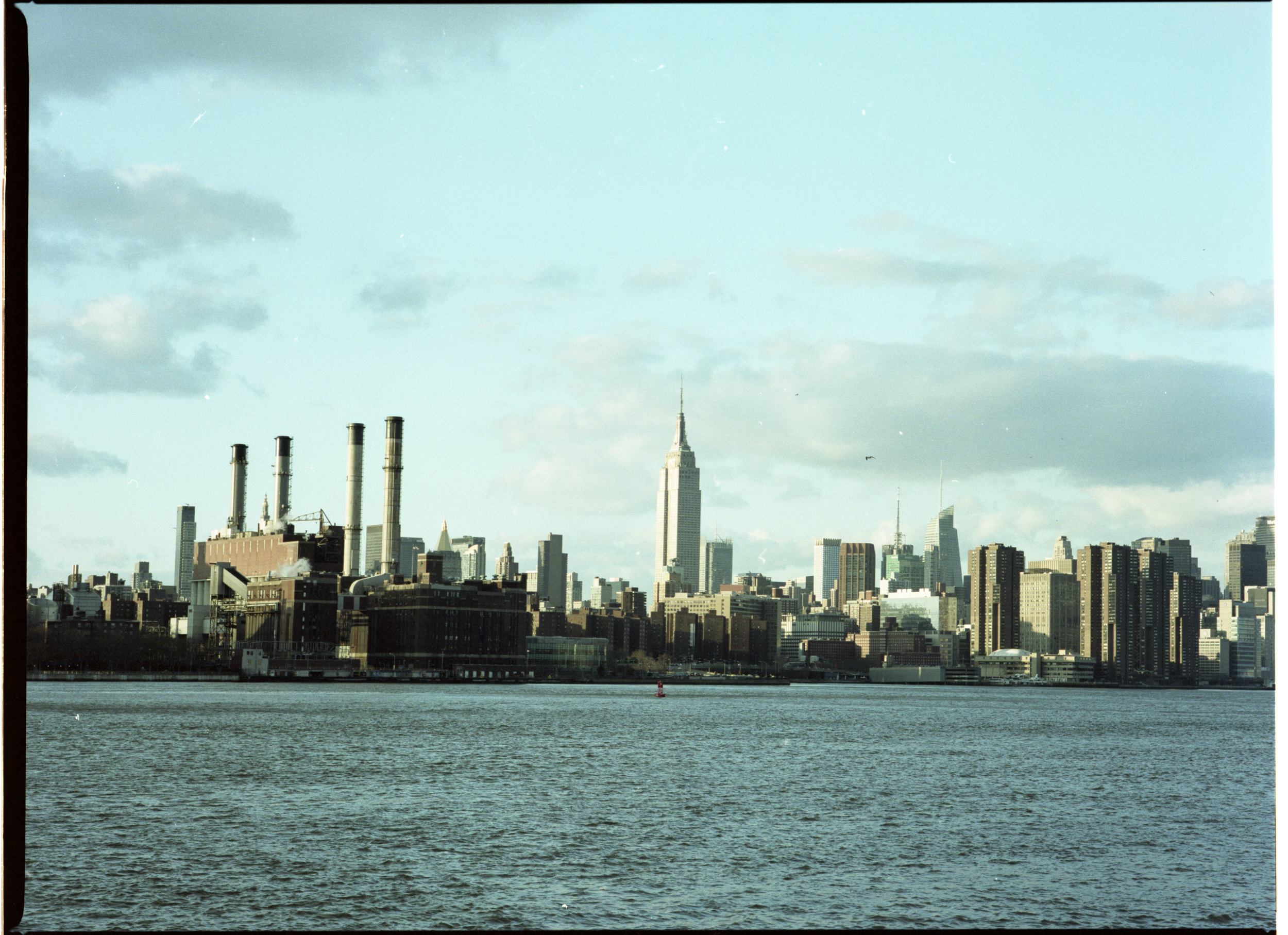 A view from Brooklyn of Manhattan.