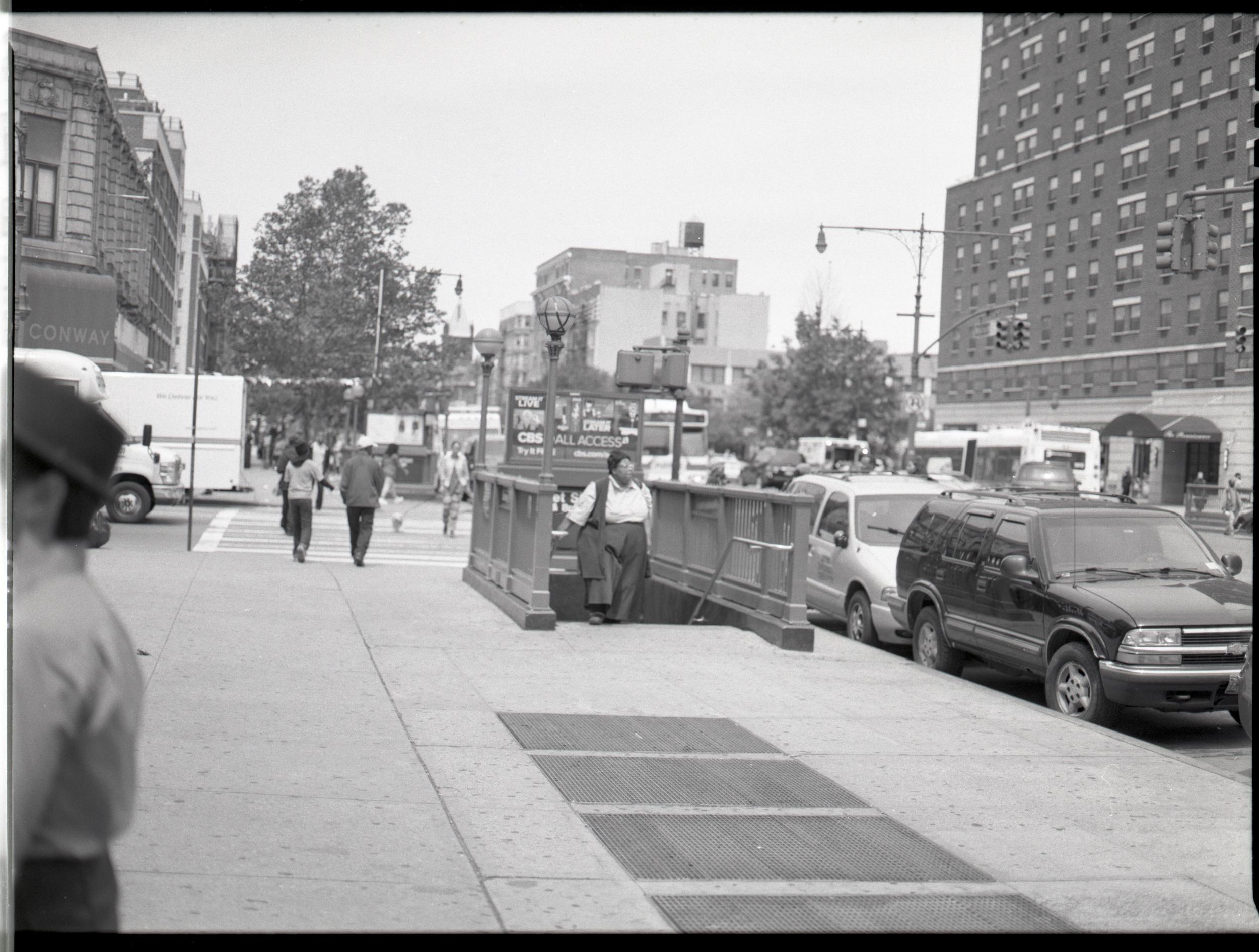 A morning in Harlem.