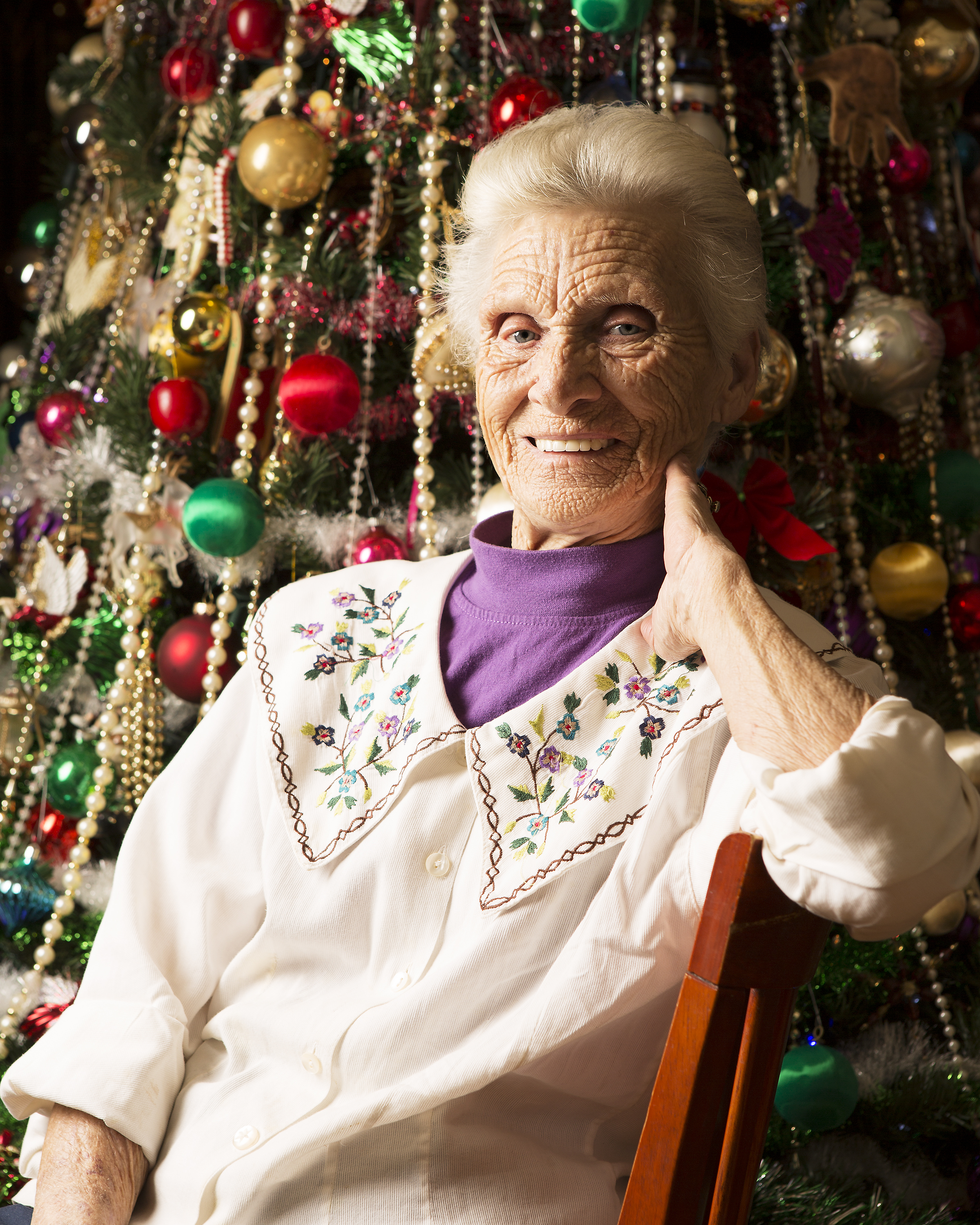 The Queen of Christmas,  Mrs. McMahon