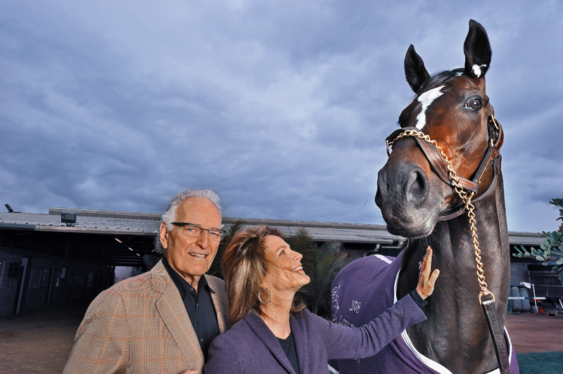 Jerry and Ann Moss, Zenyatta Owners   from  www.zenyatta.com  (courtesy Getty images/Bill Frakes)
