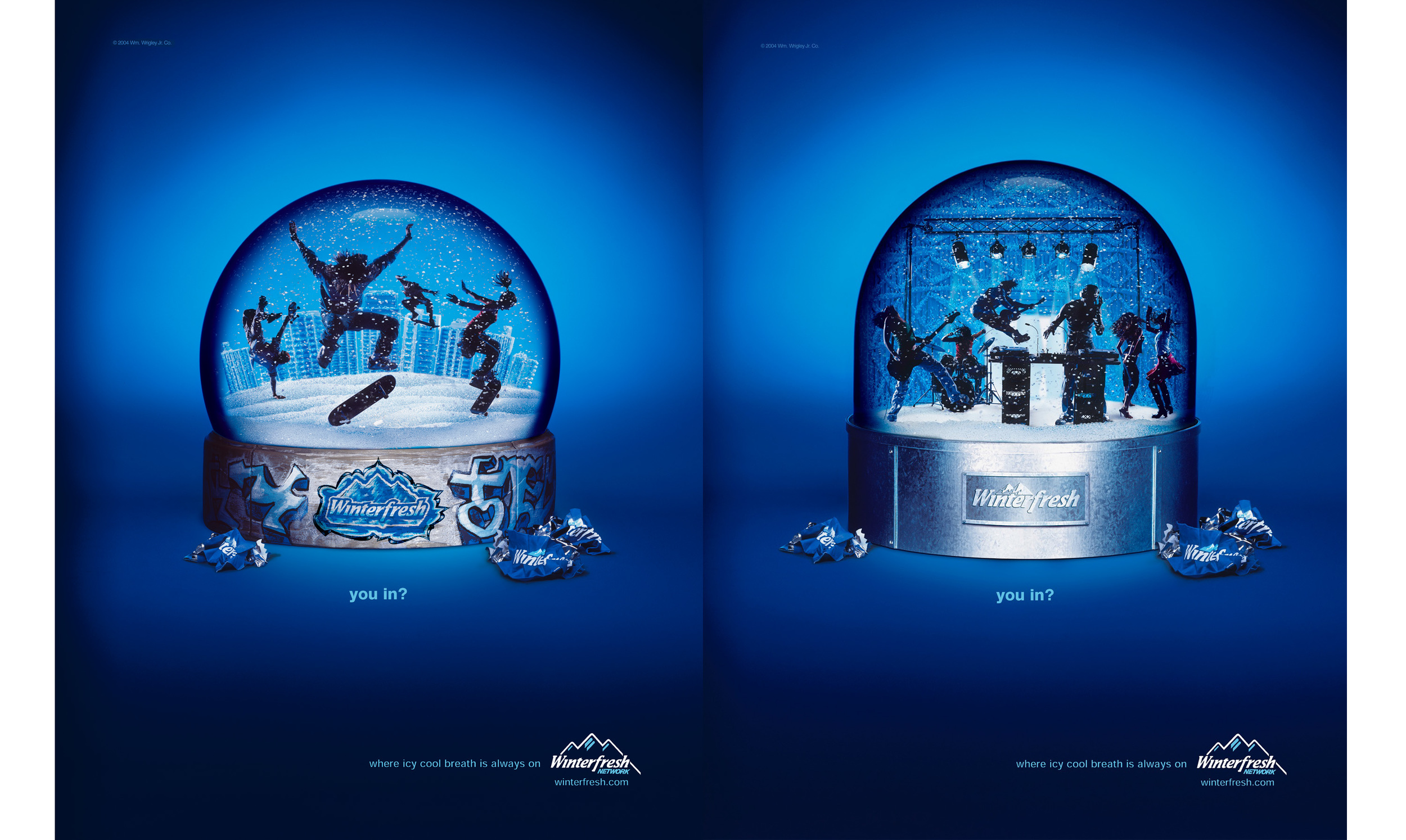 Winterfresh; Leo Burnett Worldwide