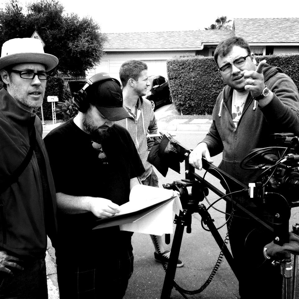 Shooting the short film, Memorial.