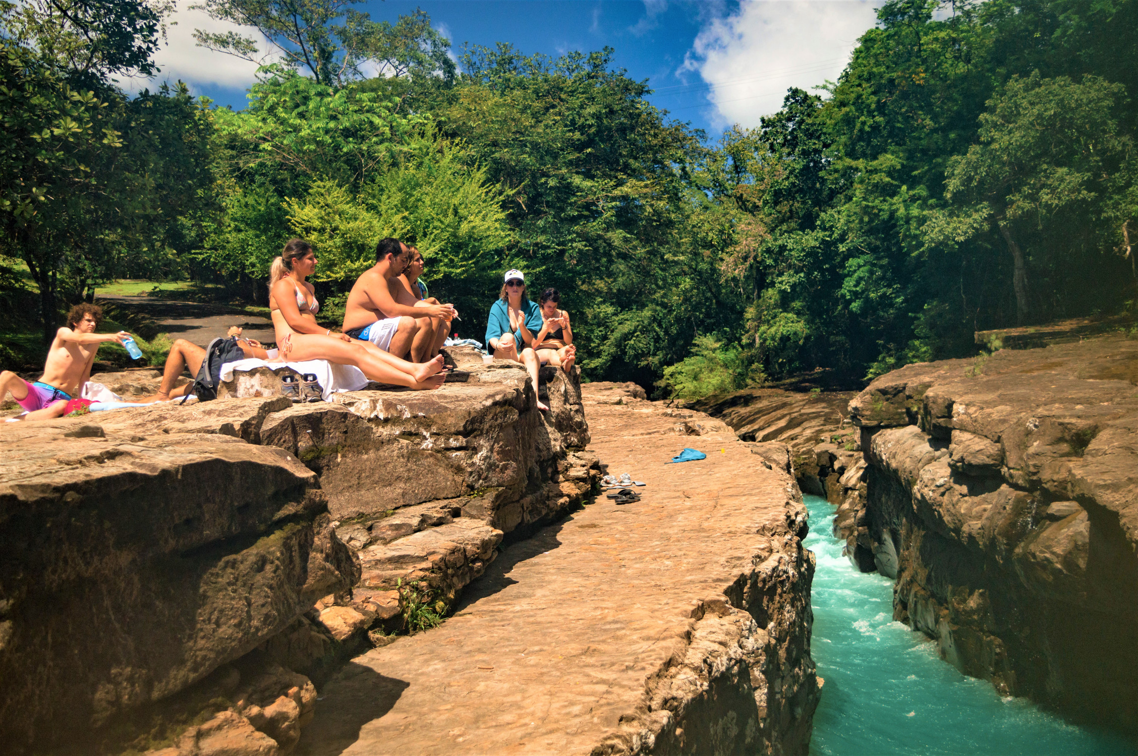 Qualaca River Canyon
