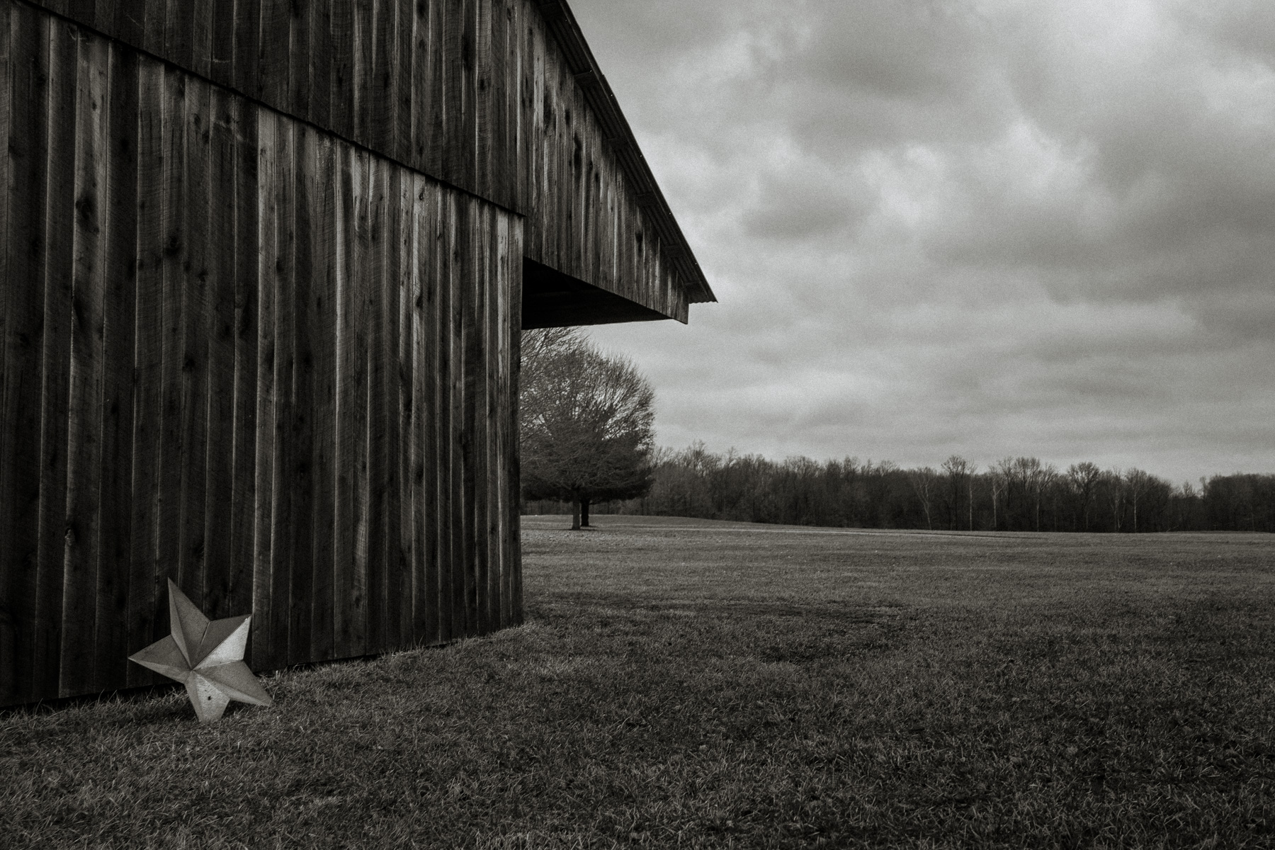 Fallen Barn Star