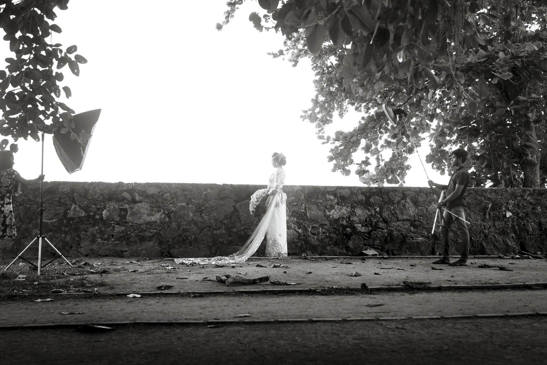 Fortress Wall Bride
