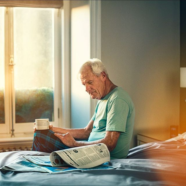 Latest campaign for the wonderful people at @leopharmaukie with agency @hkstrategies retouching by @thirdeye.studio, thank you to all the team for this great campaign. . . . .  #indoors, #adult, #man, #elderly, #woman, #room, #people, #sit, #family, #furniture, #relaxation, #window, #elder, #healthcare, #leisure, #side view, #bed, #horizontal, #medicine, #patient #service #advertisingphotography,#canon,#phaseone, #locationlighting,