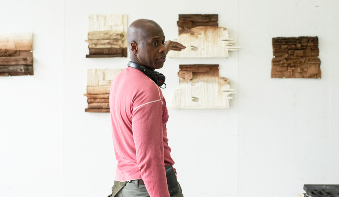 """For Leonardo Drew, the most rewarding part of being an artist is being challenged—working endless hours consumed by impulses to push limits and attack conventions. Testament to this is his Brooklyn studio, where explosive large-scale sculptures and assemblages line the walls and traces of his diligent practice flood the industrial space. """"My rewards are actually the challenges,"""" Drew told me during a recent visit. """"[In] the end it's about the making of the art… about the journey."""" A recent journey—and a formidable challenge—goes on view this week, in a new exhibition at Pace Prints. (521 West 26th St)"""