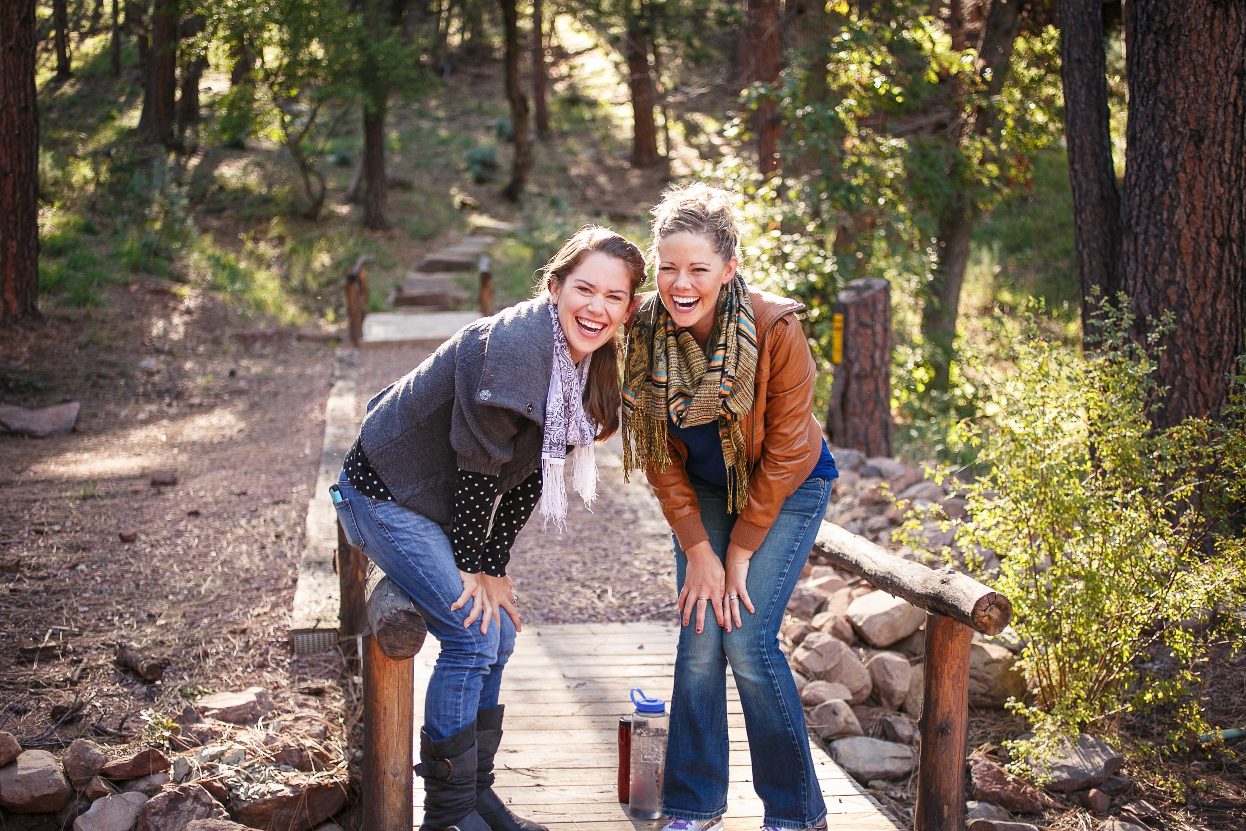 My dear friend hope and I this past weekend at our church's women's retreat. | remembering to have fun, let loose, love much, live lots, learn even when painful and corrective, balance more...