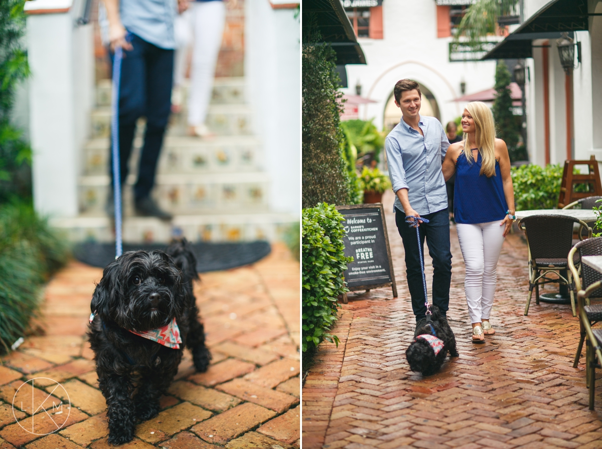 barnies-kitchen-animal-friendly-winterpark-engagement-session