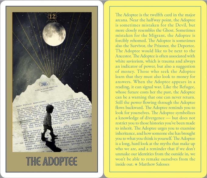 NEW:   Asian American Literary Review   ,  A Special Issue on Mental Health (January 2017) featuring six tarot card designs by Monica Ong