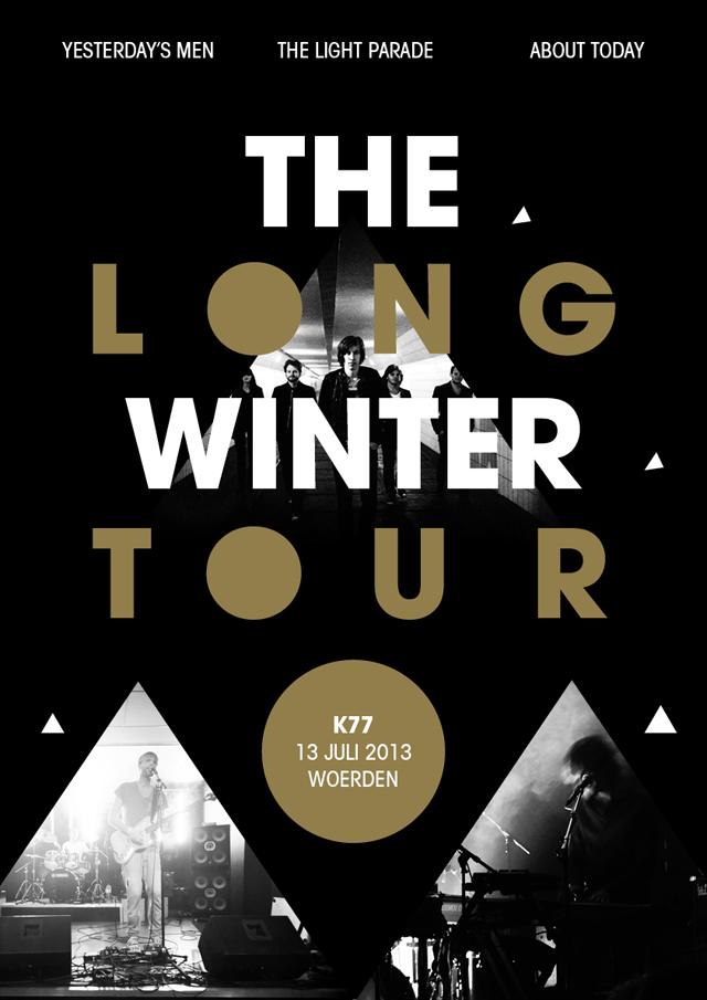 The Long Winter Tour affiche