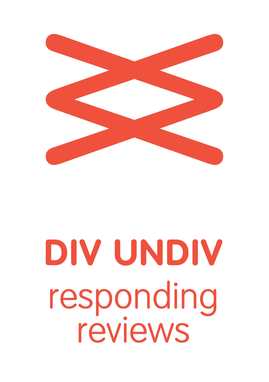 DIV/UNDIV visuele identiteit