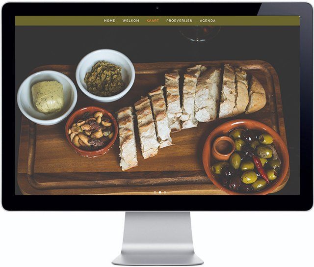 Website Café Scheffers