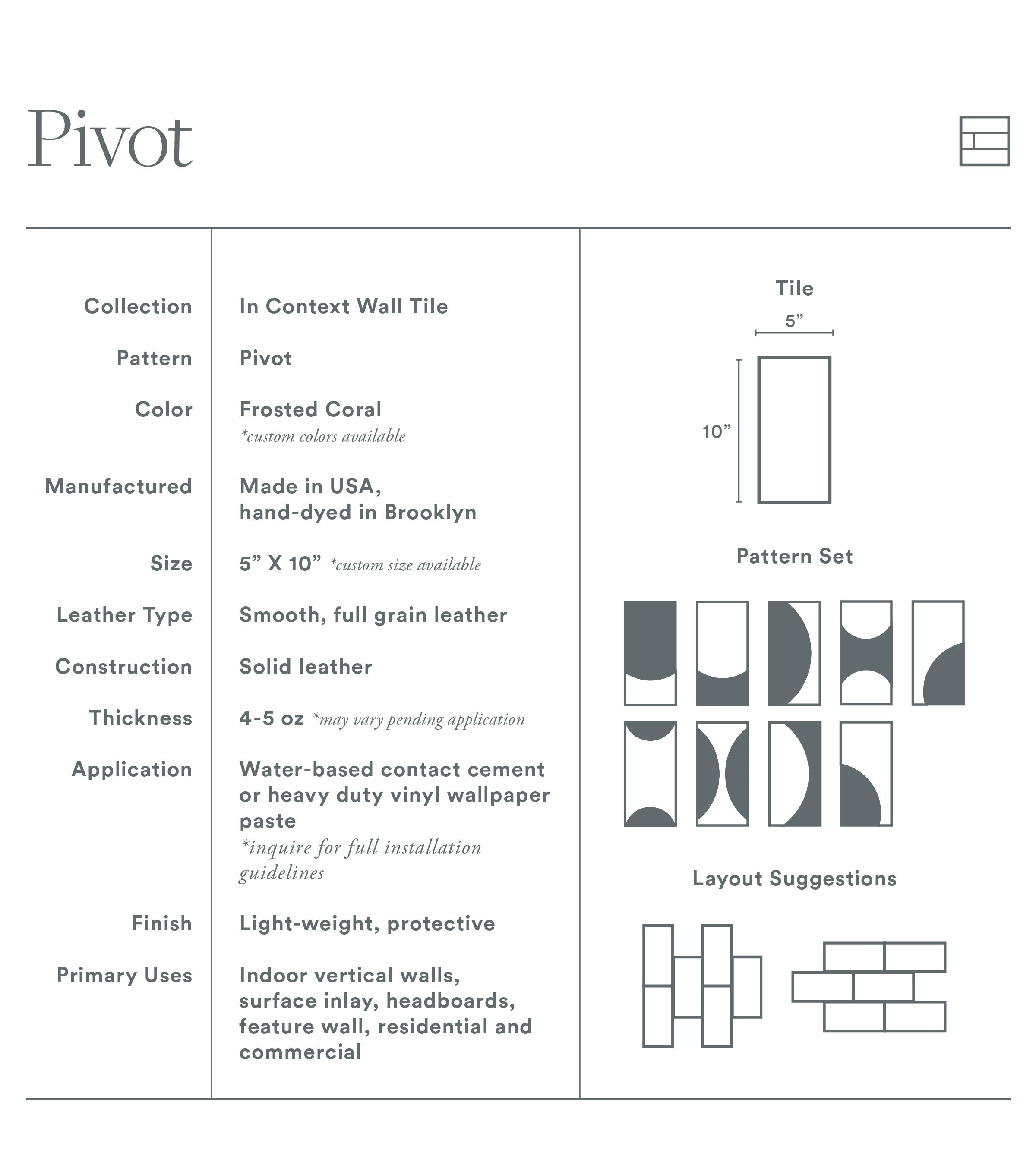Pivot Tile