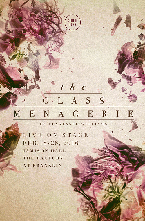 The Glass Menagerie Show Poster