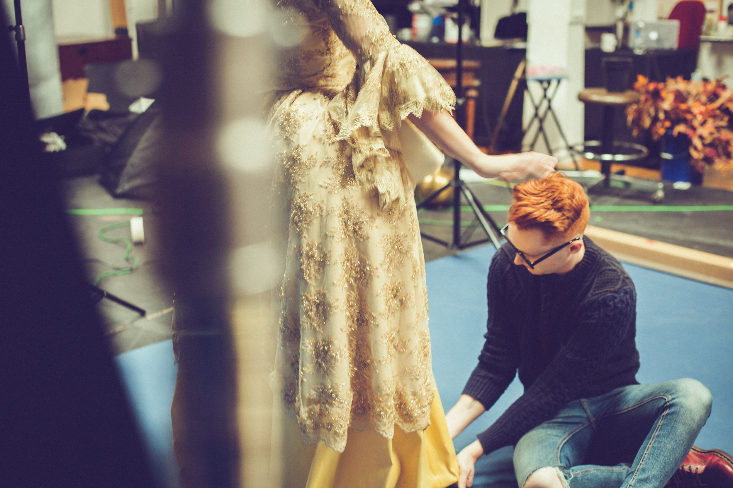 ST Beauty and the Beast BTS 3