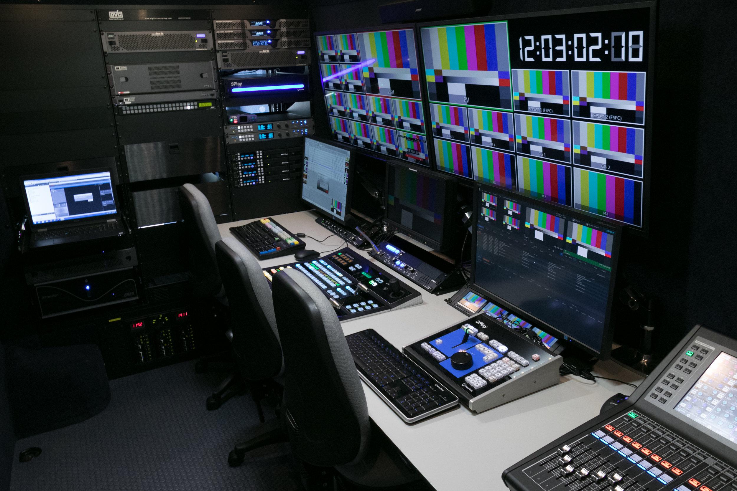WCVE Mobile Production Interior