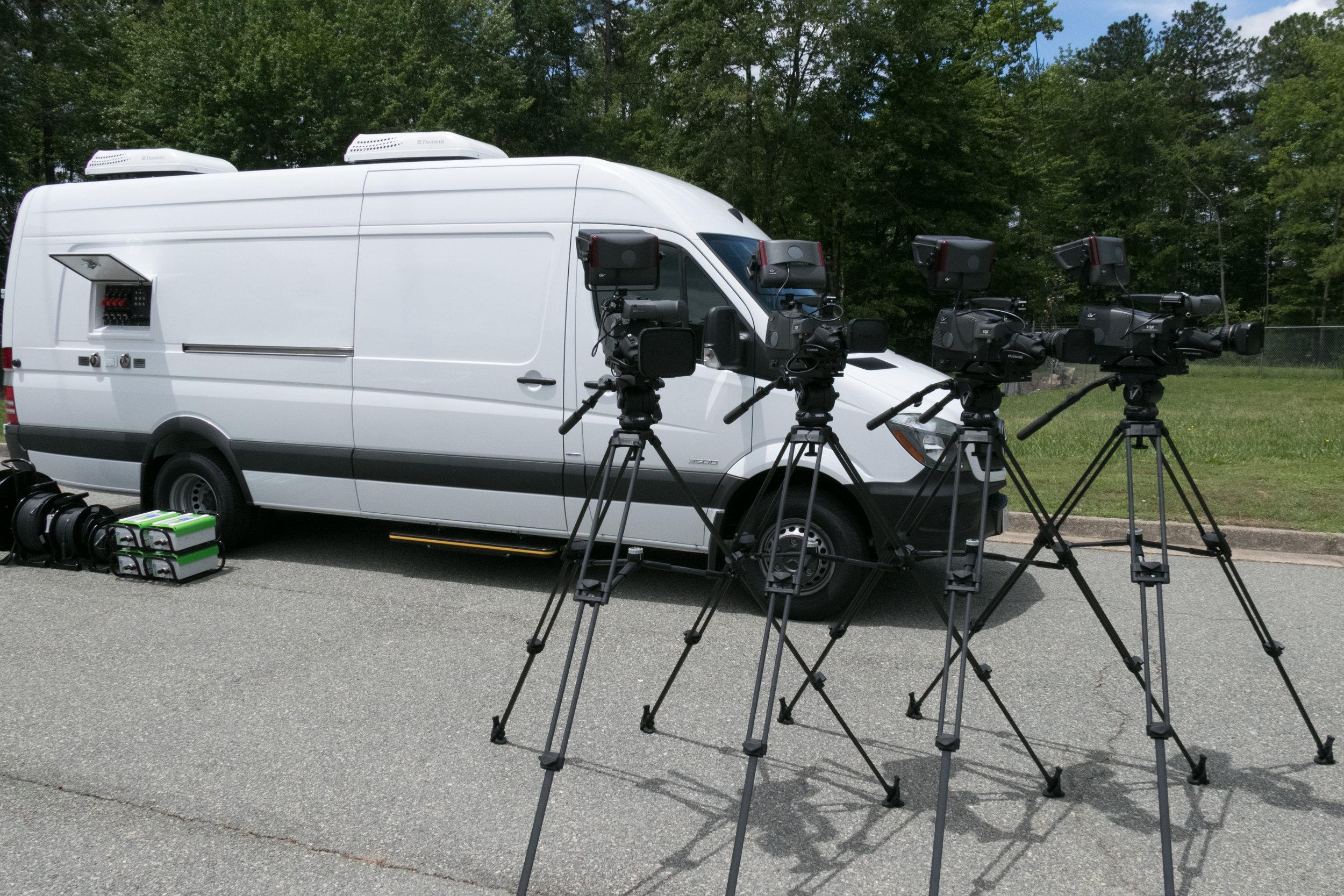 WCVE Mobile Production Unit