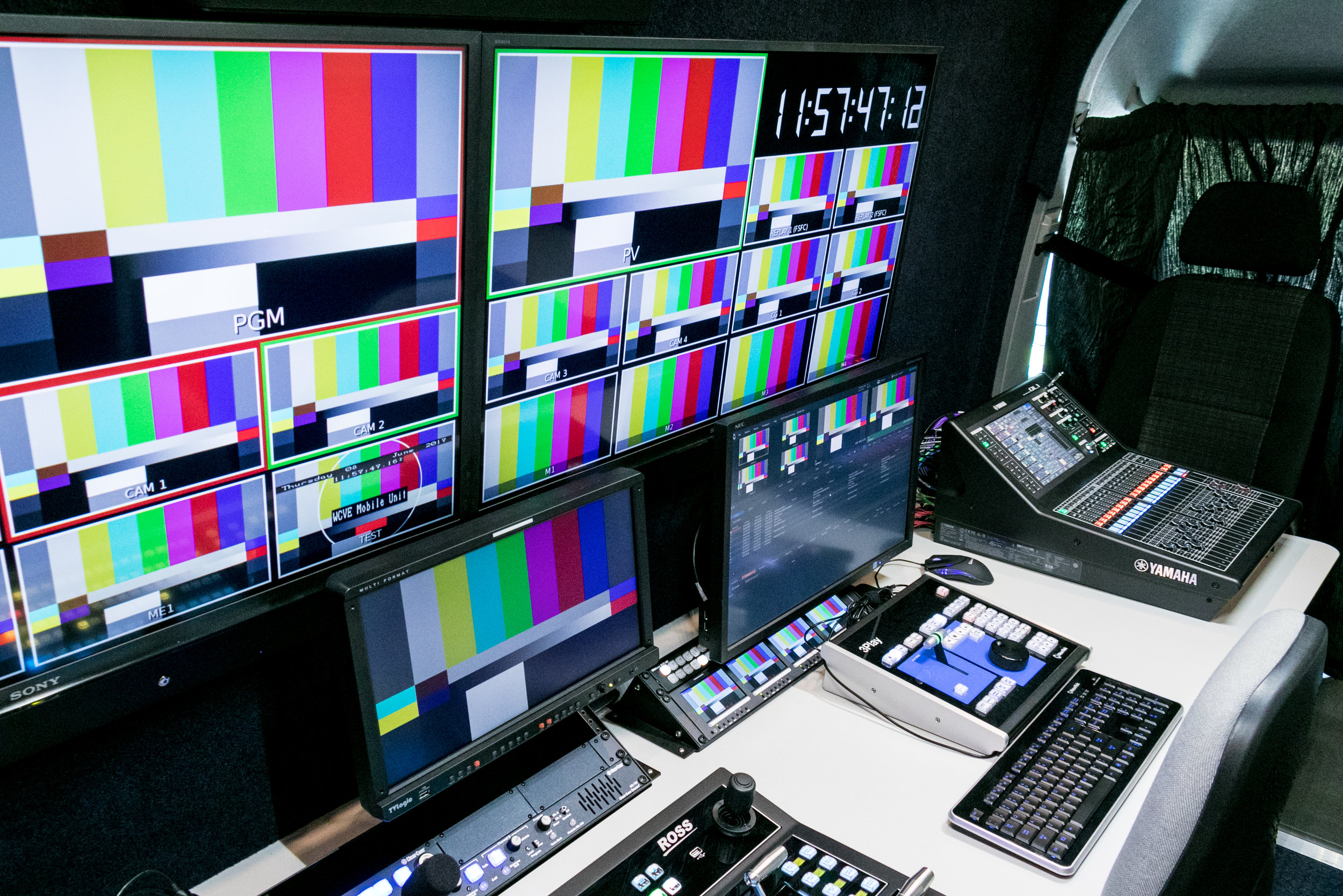 WCVE Mobile Production Interior 2