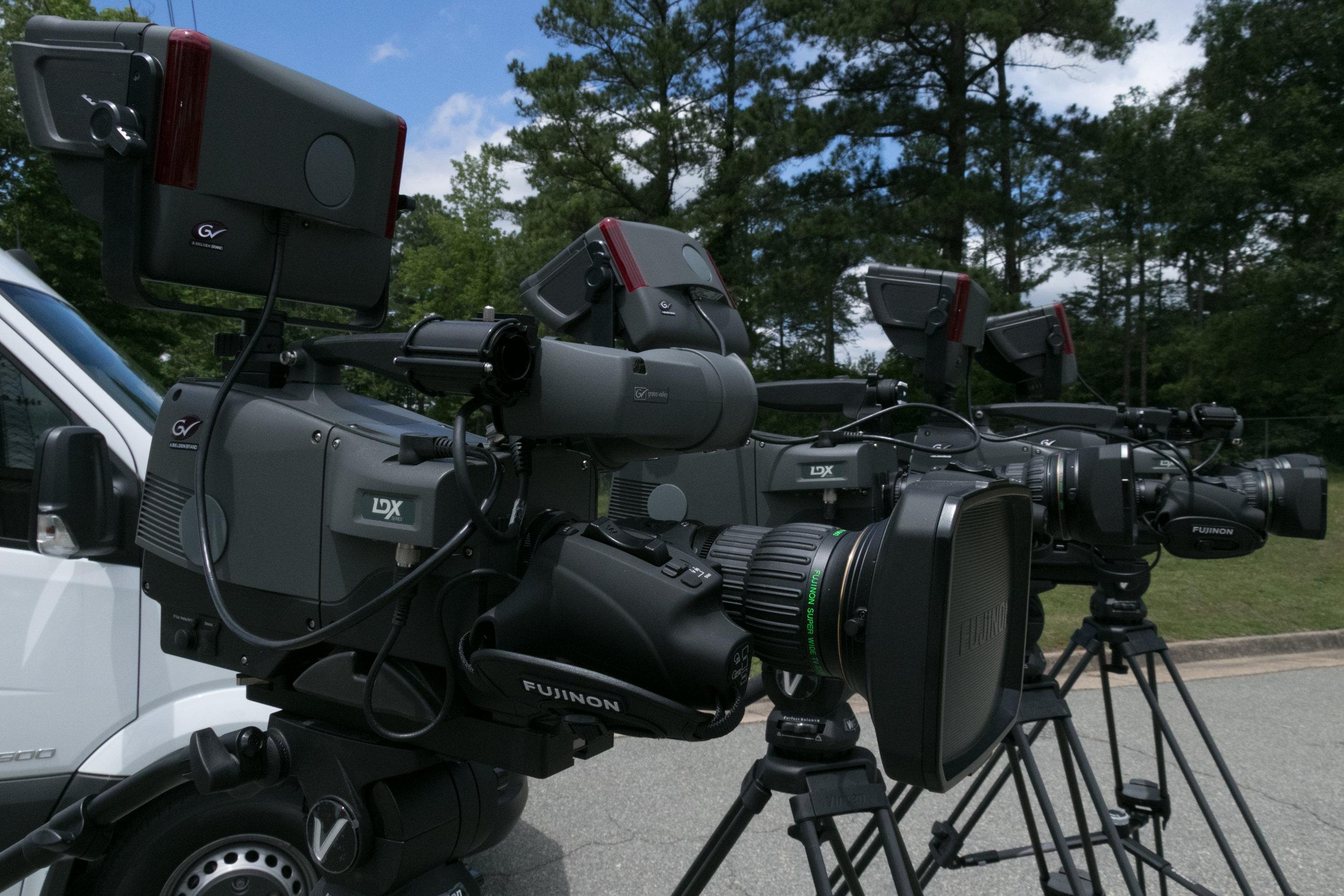 4 Grass Valley Cameras