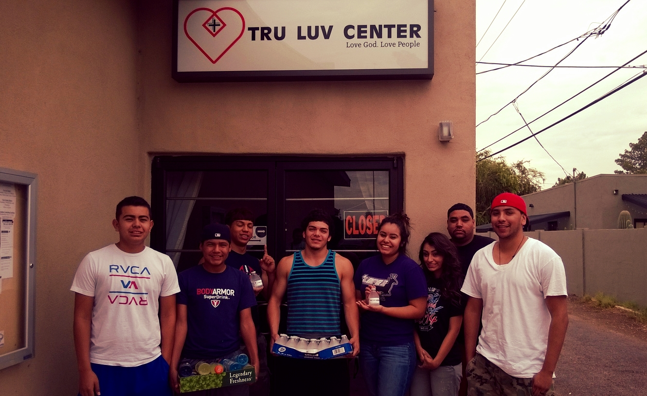 Tru Life getting ready to hit the streets to share some love!