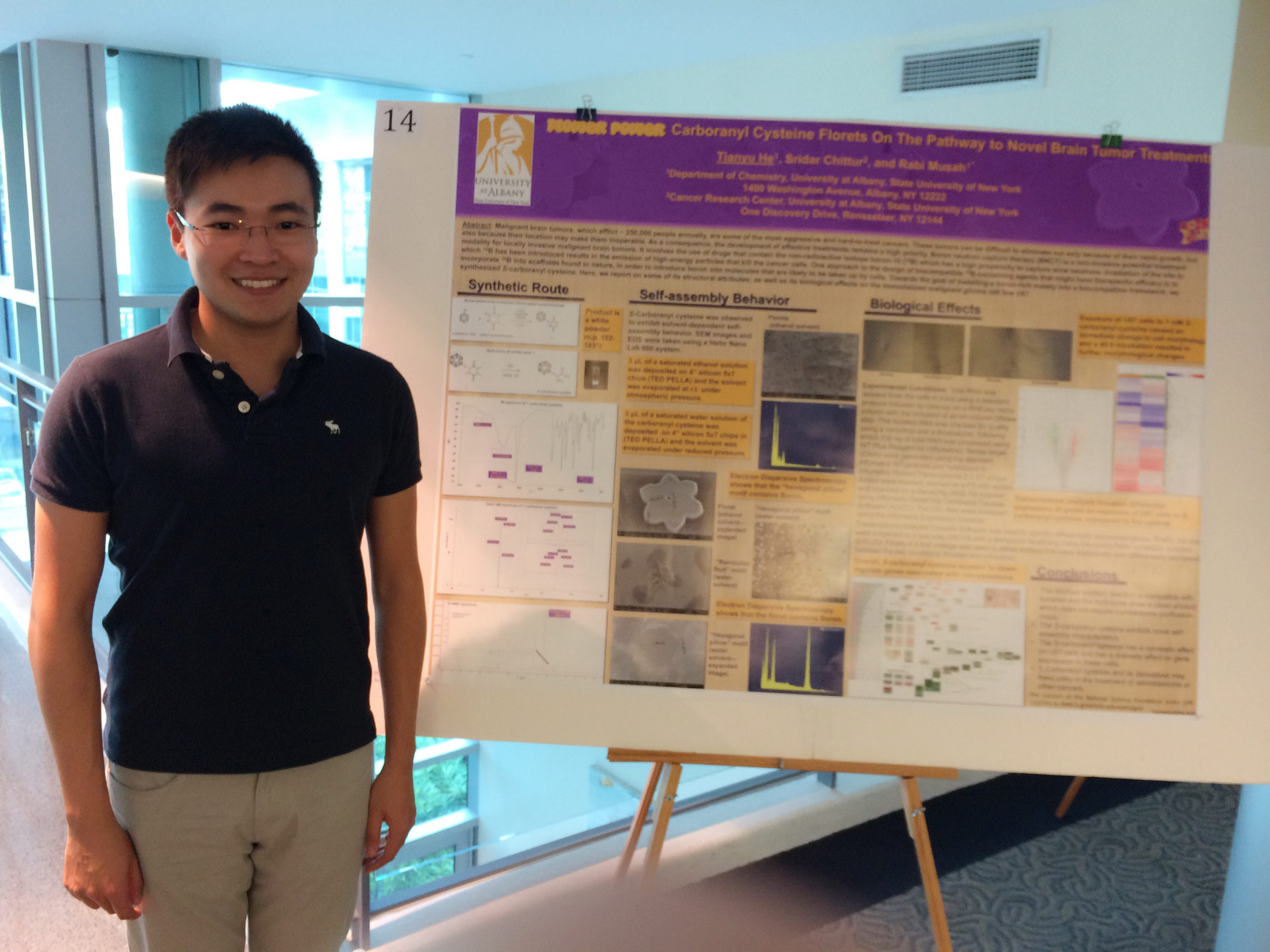 Tianyu He at LSRS 2015
