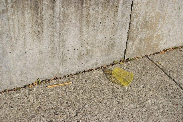 Pencil and cup! Troy,NY July 2019. •  #aintbad #fuji #uncertainmag #rentalmag #carpet #ifyouleave #eyeshotmag #burnmagazine #street #myfeatureshoot #noicemag #ourstreets_ #millennium_images #underdogsmagazine #streetphotographersmagazine #photoroomopen #anewnothing #streetsansfrontieres #pictureoftheday #enjoytroy #yellow #findart