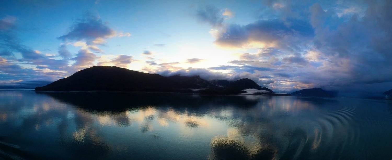 Off the coast of Alaska
