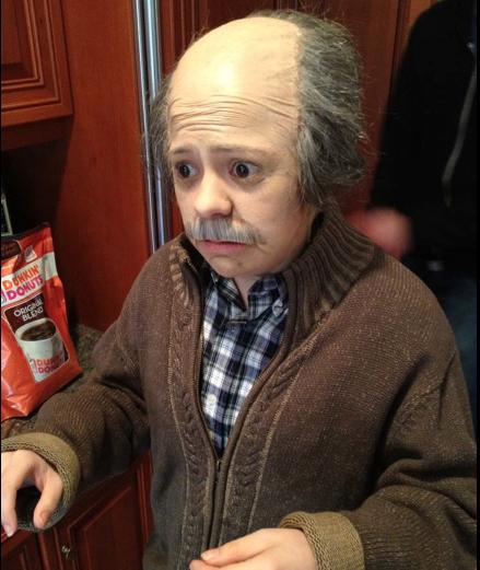 Alison Rich Old Man Incognito