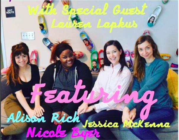 Alison Rich With Special Guest Lauren Lapkus