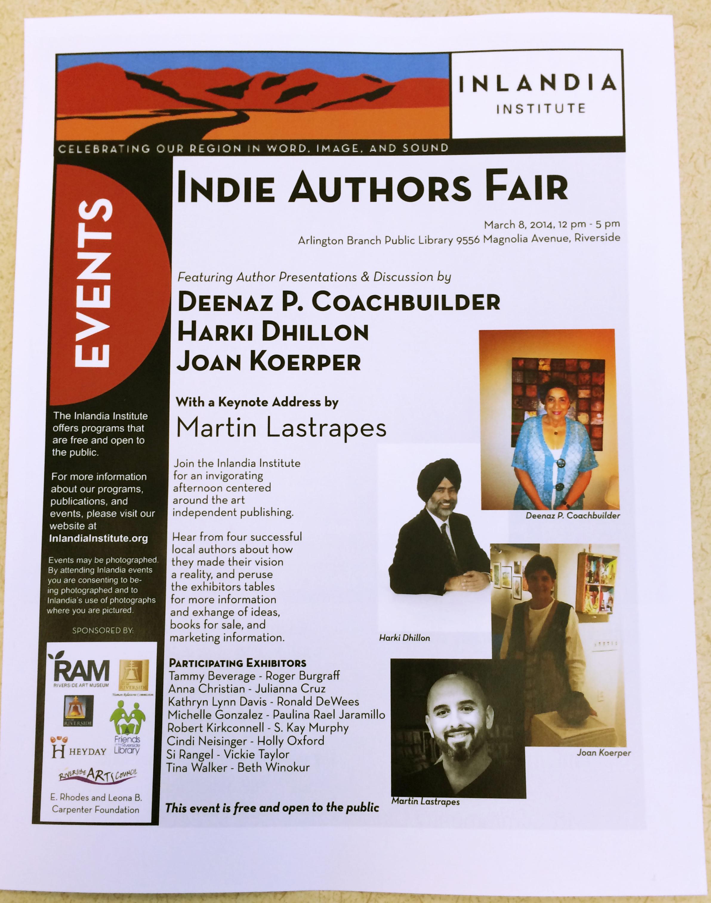 2014 Indie Authors Fair