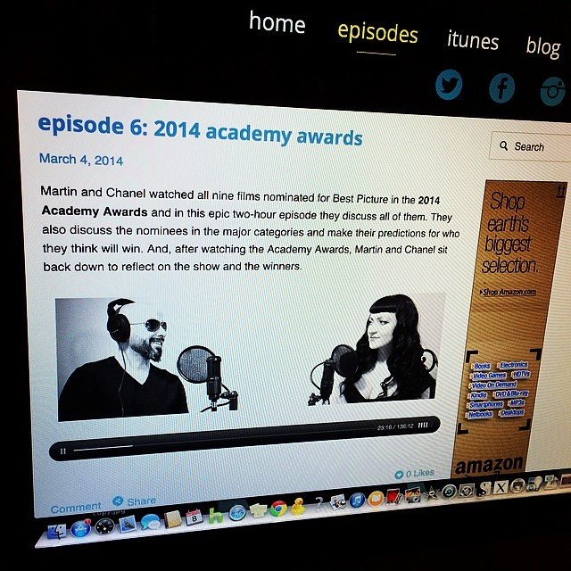 Chanel and I discuss all nine movies nominated for Best Picture in 2014 Academy Awards.