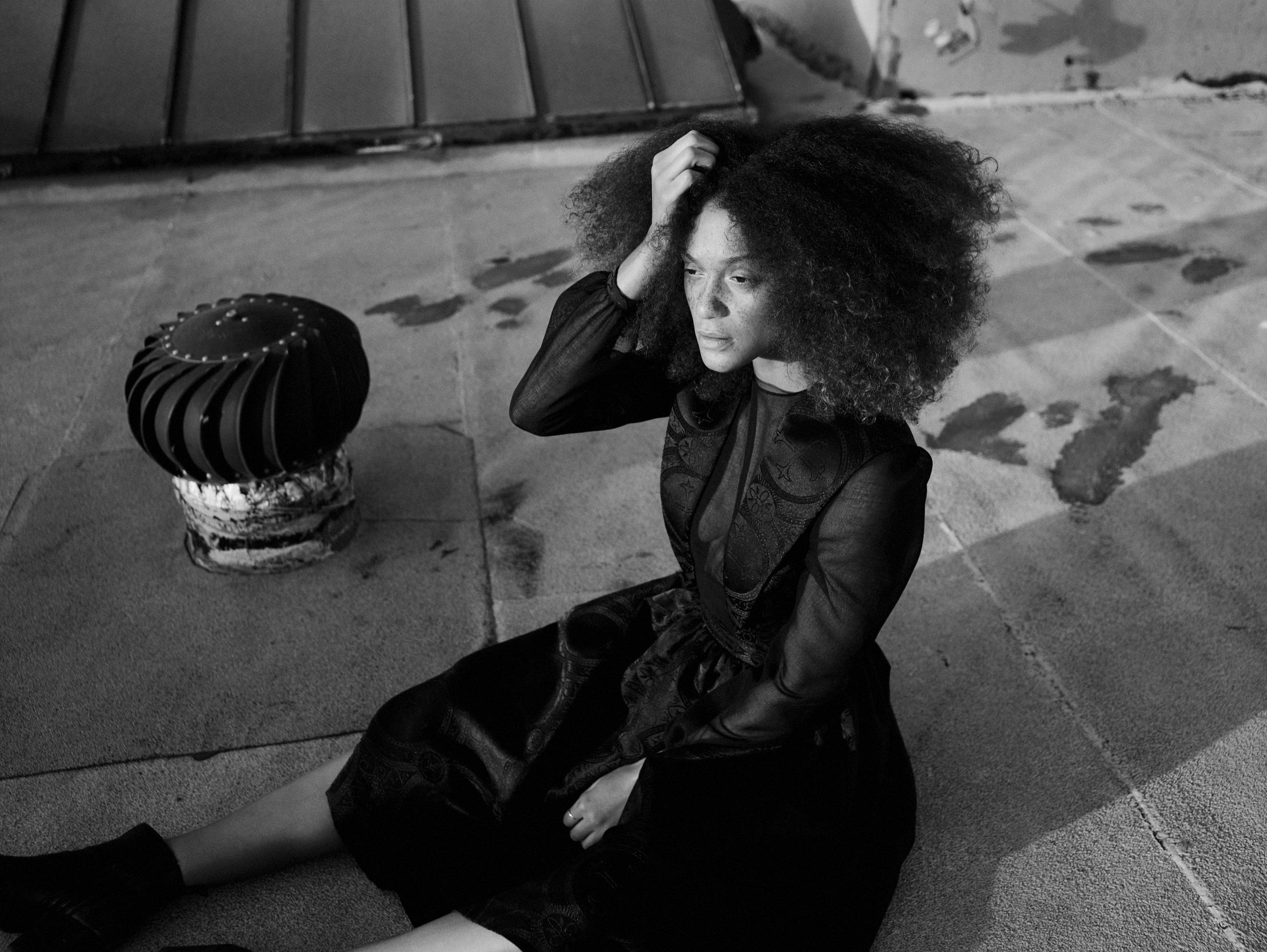 Lauren Johnson by Tom Van Schelven