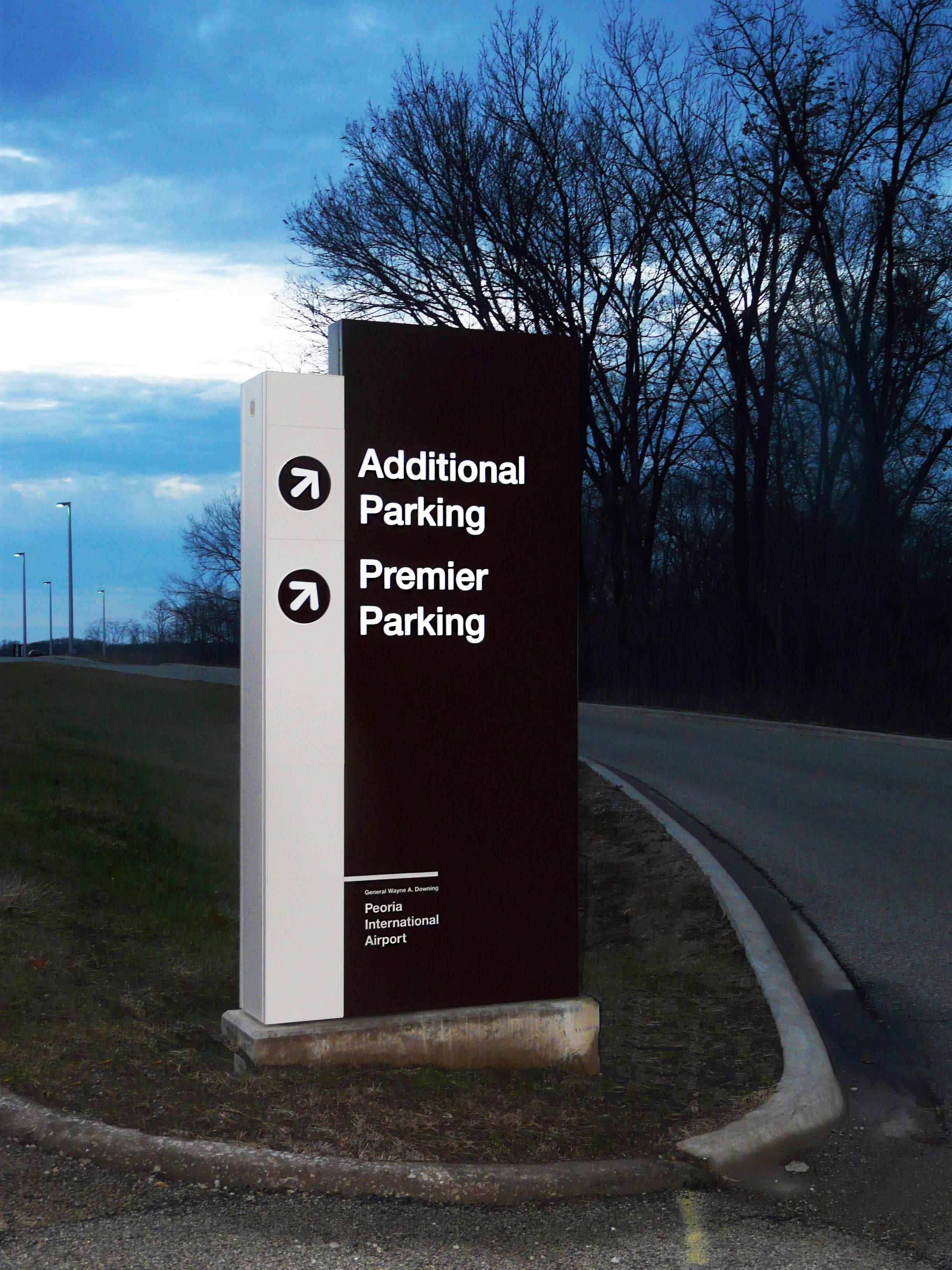 Parking Signage At Peoria