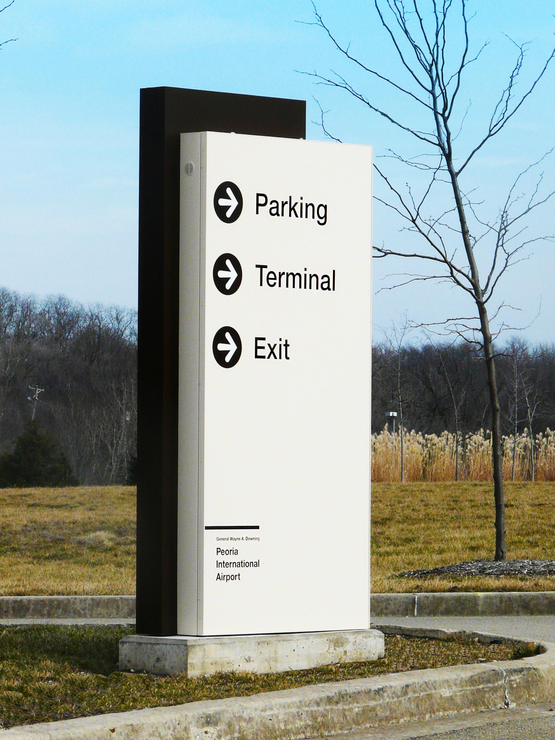 Exterior Airport Signage