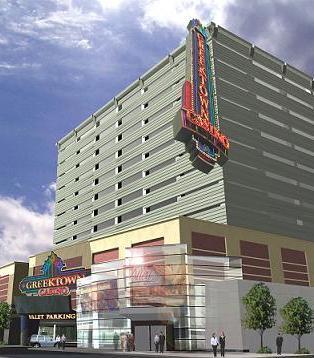 Exterior Casino Signage Design