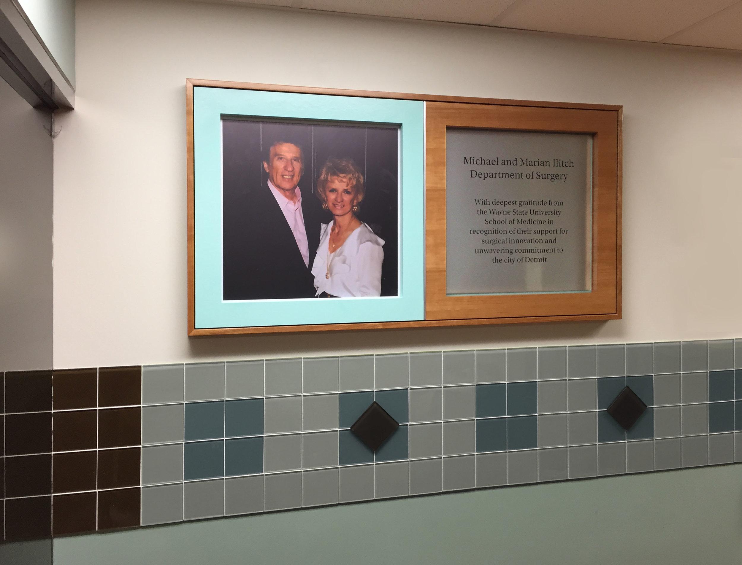 Exhibit Signage Recognizing Donors