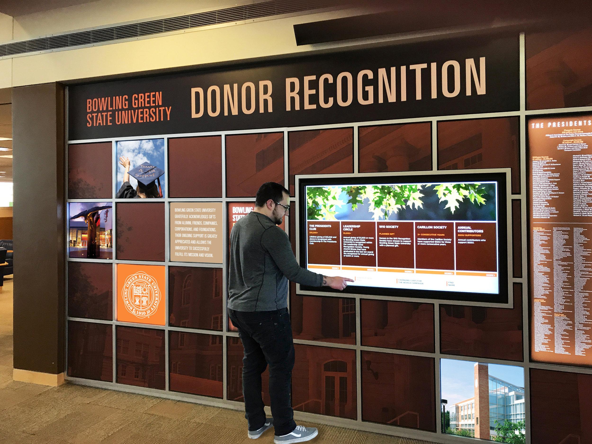 Digital Recognition Exhibit Design