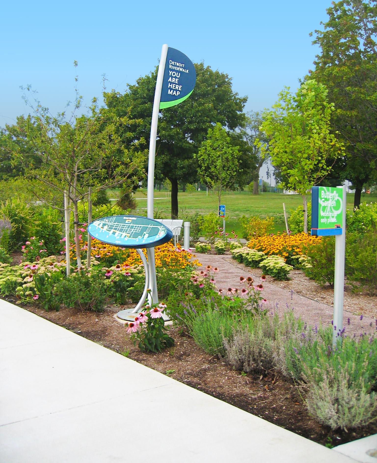 Butterfly Garden Exhibit Signage
