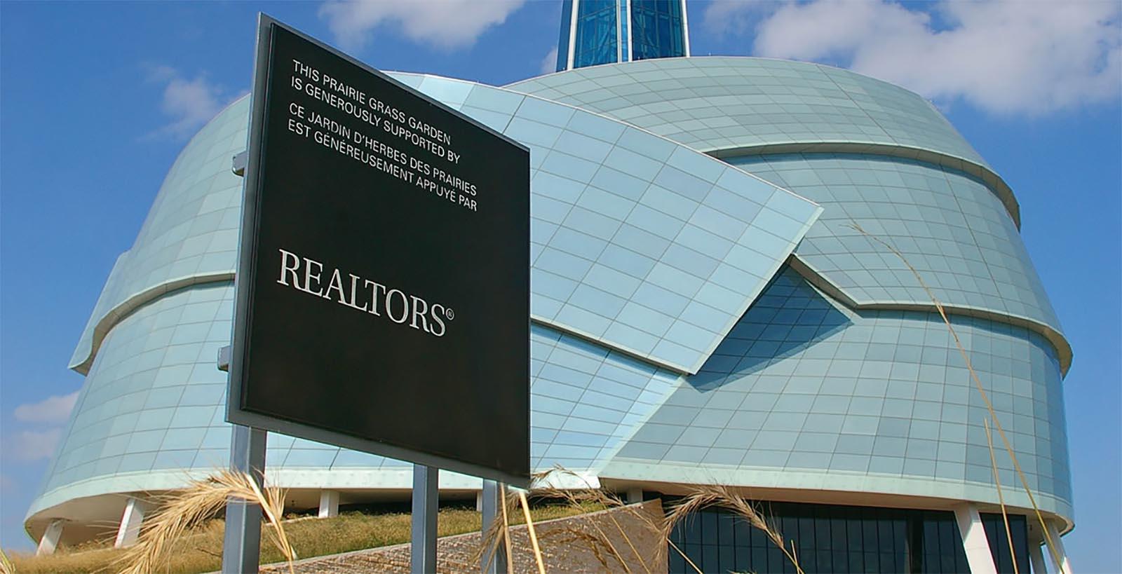 Canadian Museum Entrance Signage