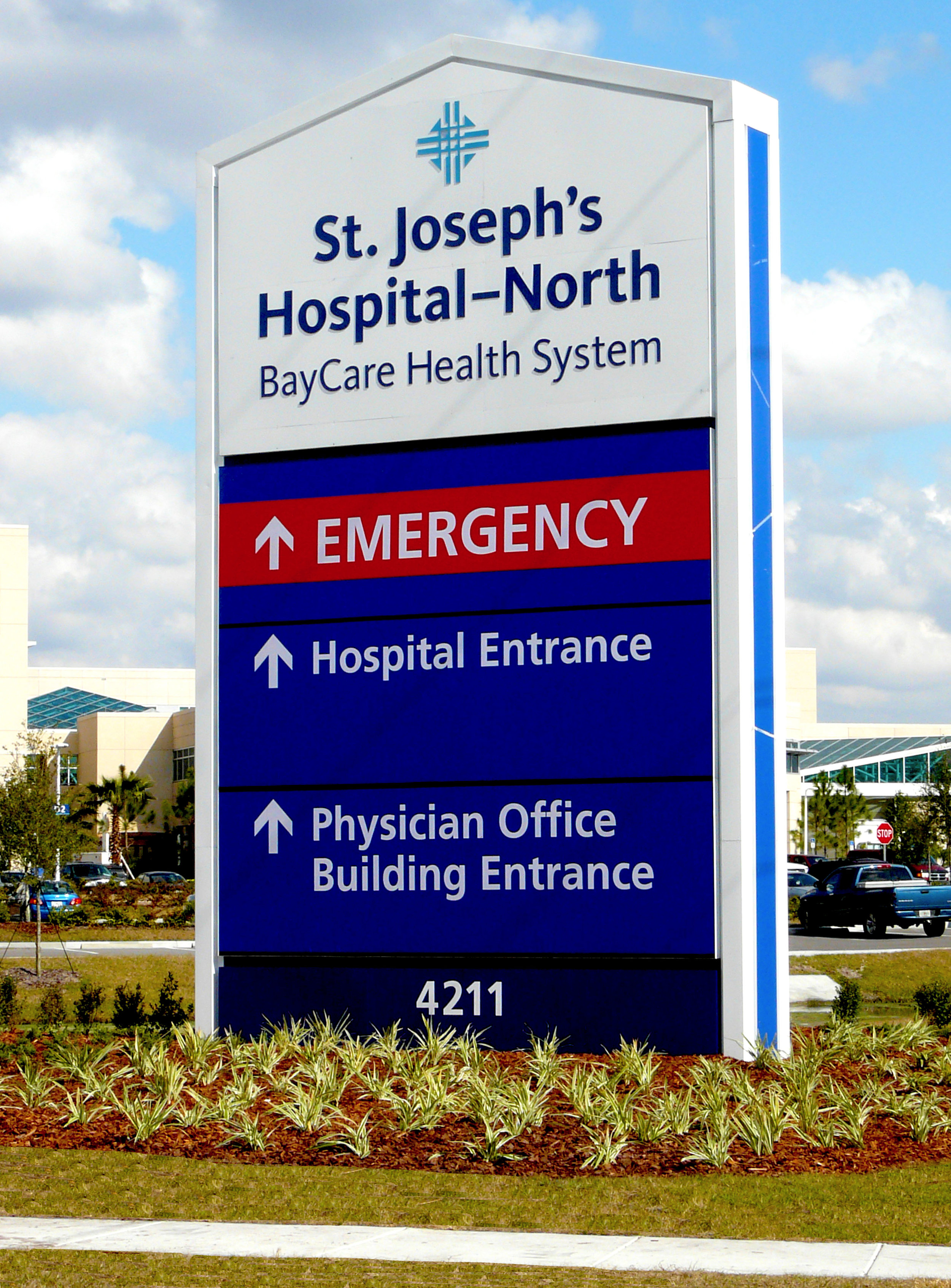 Hospital Signs And Wayfinding