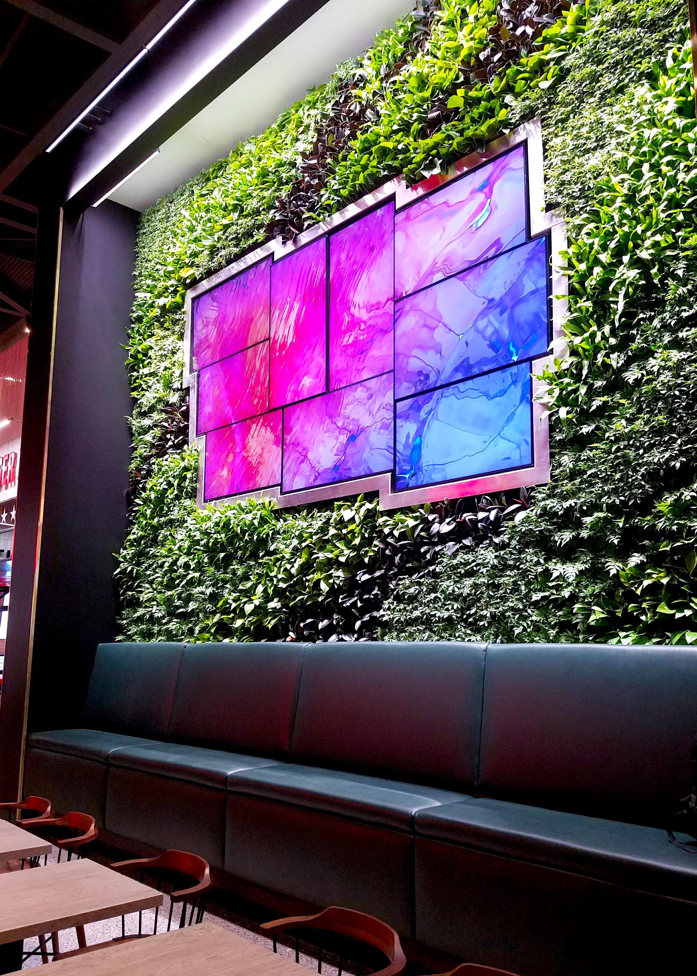 Environmental Graphics And Digital Branding