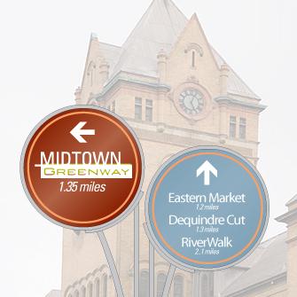 Midtown Greenway, Midtown, Detroit MI