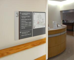 Hospital Wayfinding Signage System