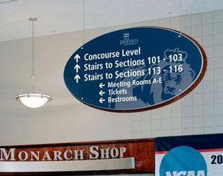 University Directional Signage