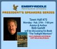 Speaking at Embry Riddle University in Daytona Beach   ...  and signing  THE TWILIGHT WARRIORS