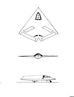 The Black Star  Top secret stealth jet featured in two novels, designed late one night at Bob's poolside bar