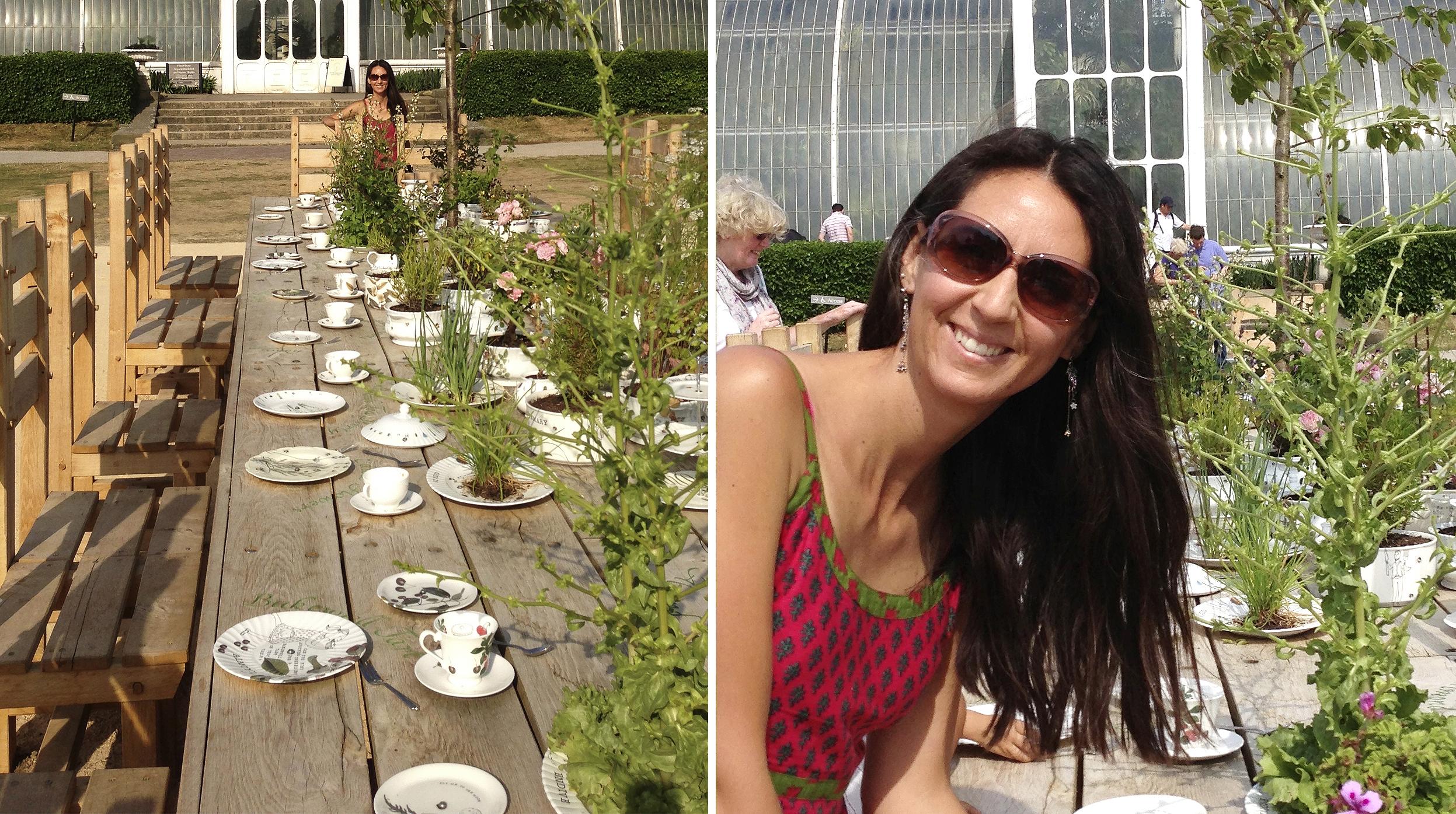 """The Rose Garden """"Tea Party"""""""